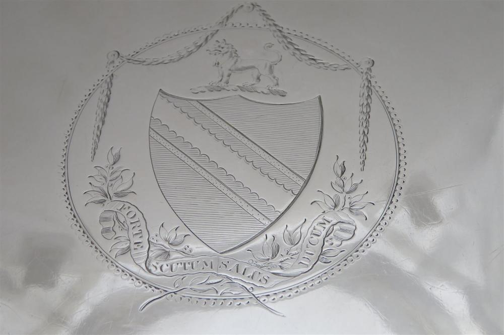 George III silver salver, by Carter, Smith & Sharp