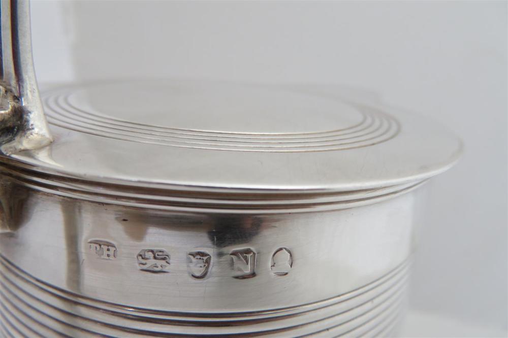 George III silver tankard, Thomas Hayter