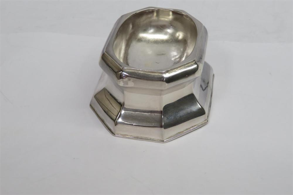 George I silver trencher salts (4pcs)