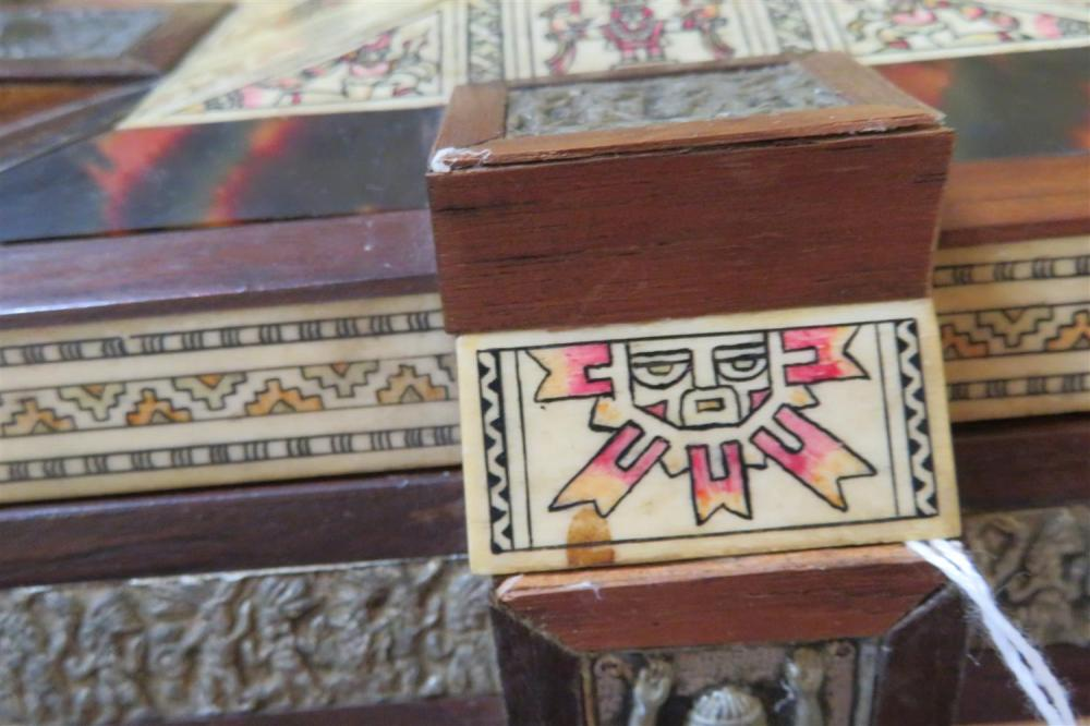 South American Aztec style box