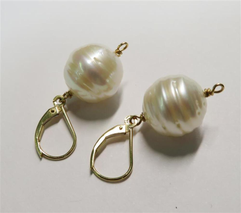 Gold, gem and pearl pierced earring collection (8pcs)