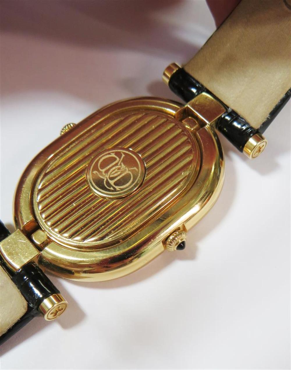 Seiko Credor diamond and gold wristwatch, retailed by Wako