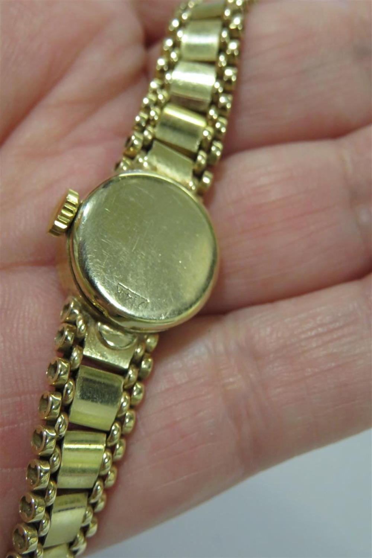 Vintage Rolex gold cocktail watch