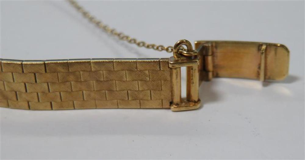 Vintage Corletto diamond and gold wristwatch