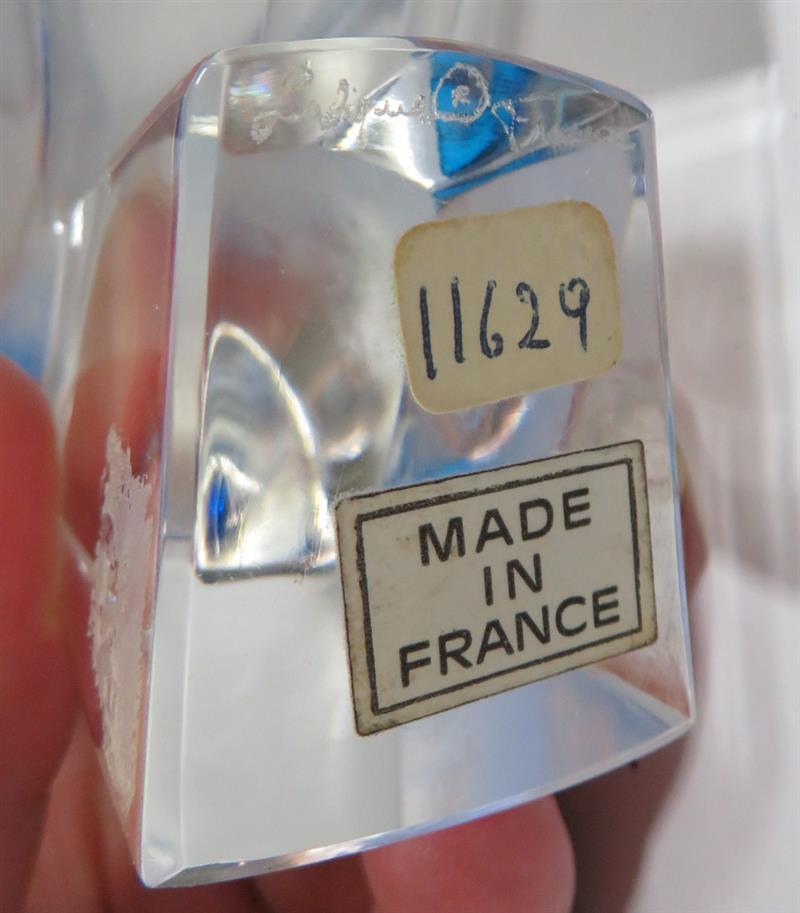 Pair Lalique crystal Pimlico birds (2pcs)