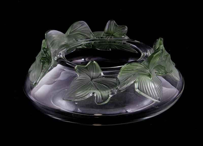 Lalique Lierre crystal bowl