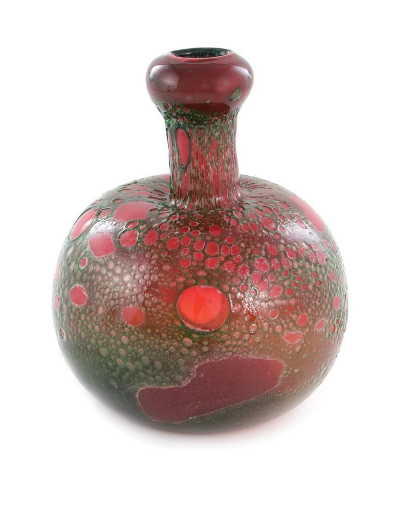 Kaj Franck glass bottle-form vase