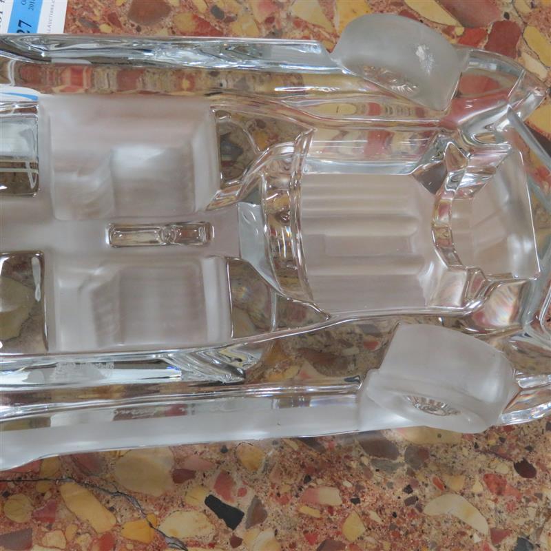 Daum crystal 1959 Cadillac Eldorado sculpture