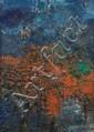 YANKEL Jacques (1920). «l'automne ». Toile signée en bas à droite, datée et située 61 au dos. 80.5 x 60 cm. /19