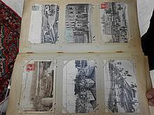 Album de cartes postales régionalisme, gros plan, scènes animées, illustrateurs, anciennes possessions française, Maroc. Expert: X. PIGERON