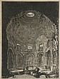 Jean-Baptiste PIRANESE (1720-1778). Veduto della....... Estampe. 63 x 47 cm