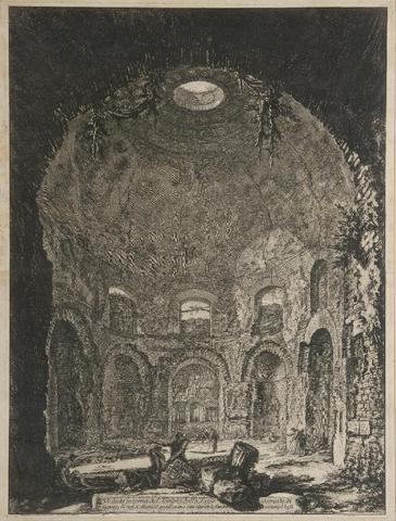 Jean-Baptiste PIRANESE (1720-1778). «Veduto della......». gravure. 63 x 47 cm