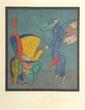 CHEMIAKINE Personnages, lithographie en couleurs, signée et justifiée HC hors planche au crayon 47 x 41 cm