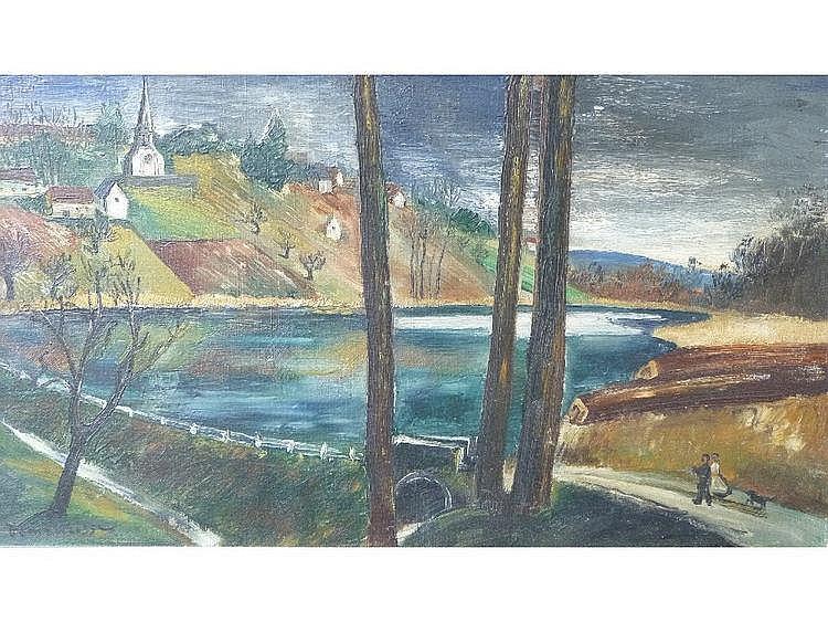 Rene Demeurisse (French, 1894-1962) Des nus et