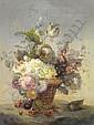 Alexandre Debrus (1843-1905), Still Life of Basket
