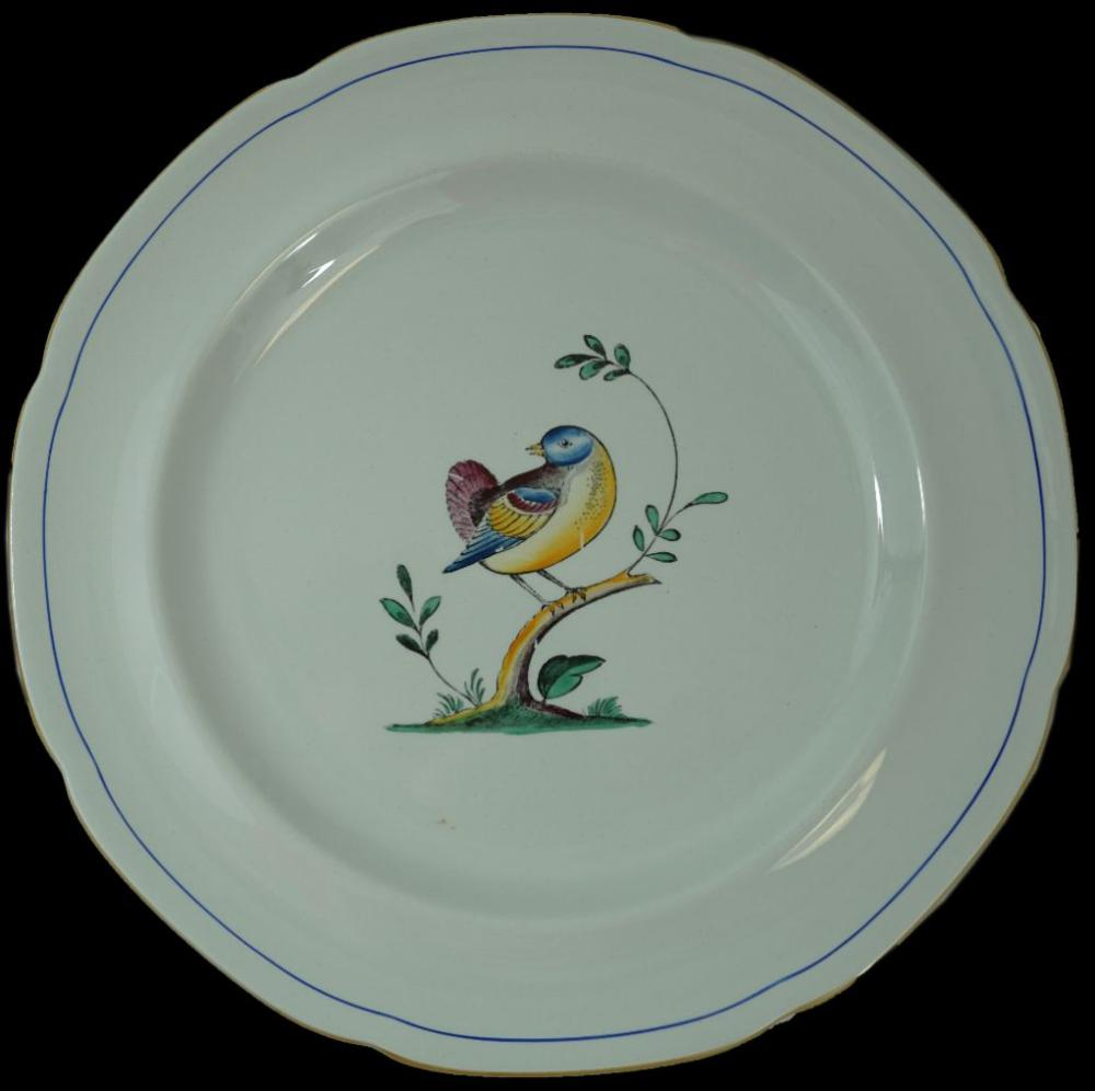 Spode Queen/'s Bird Queens Bird Fine Stone Bread and Butter Plate s
