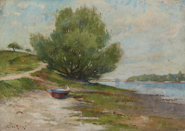 Edward A. Page, Beached Dory
