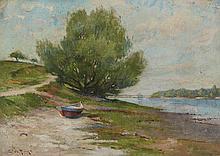 Edward A. Page, Beached Dory