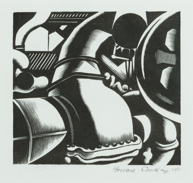 Howard Cook, Engine Room, 1931