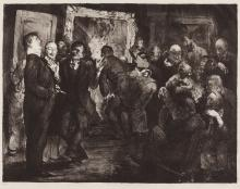 George Bellows, Artists Judging Works of Art