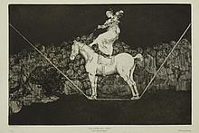 Francisco Jose de Goya y Lucientes, Bailando en una cuerda floja