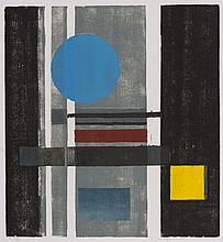 Werner Drewes, Circle and Squares, 1980