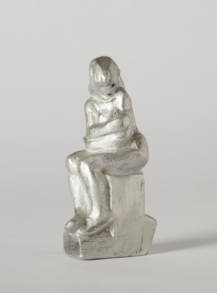 Dudley Vaill Talcott, Girl Sitting on Base