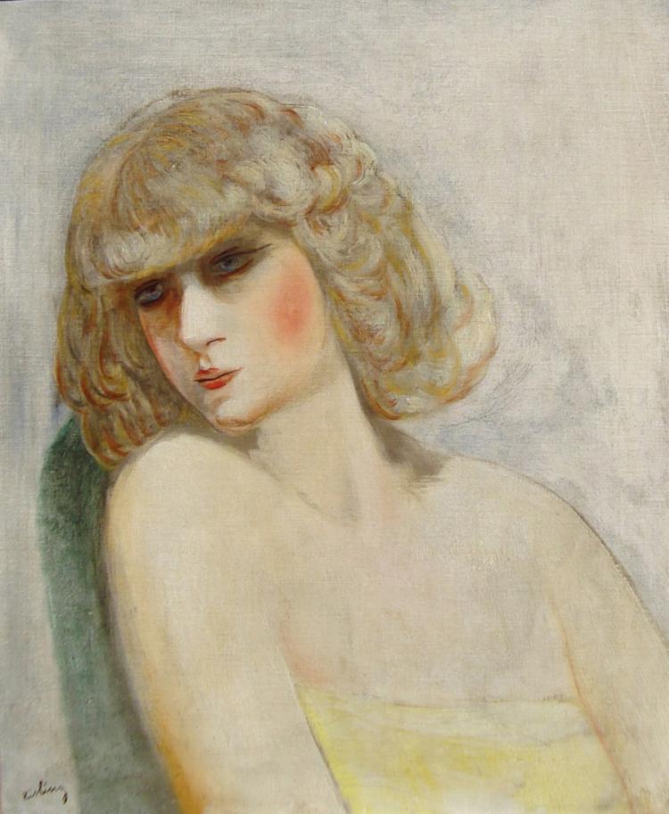 Moise Kisling, Jeune Femme, 1942