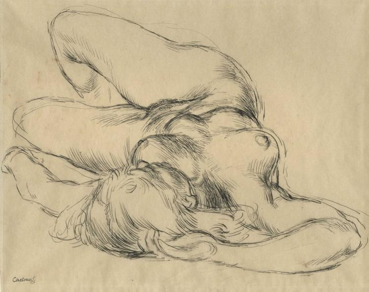 Paul Cadmus, Reclining Nude