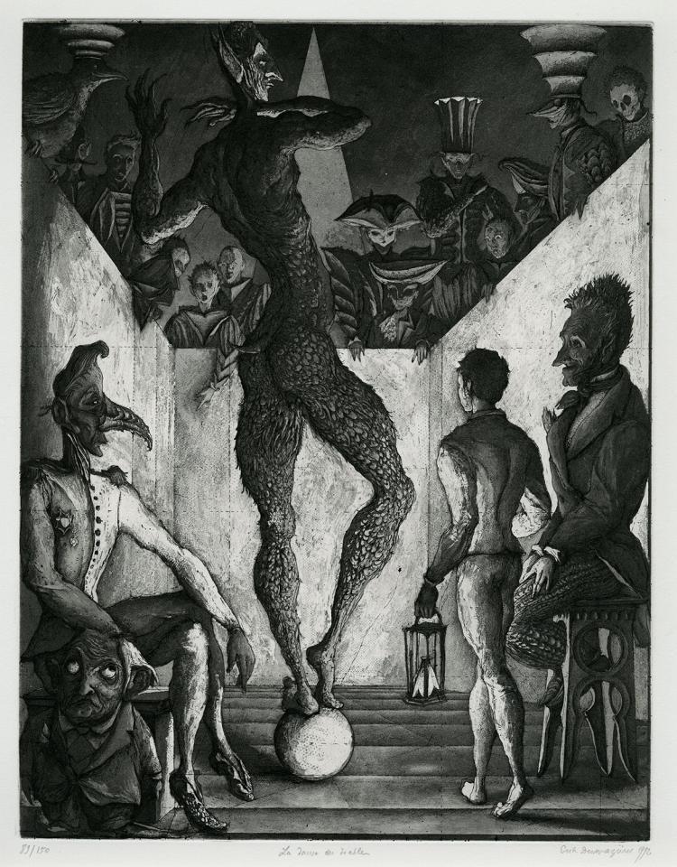 Erik Desmazières, La danse du diable, 1992