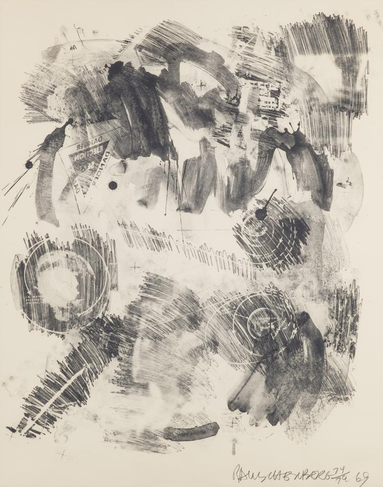 Robert Rauschenberg, Loop, from the Stoned Moon Series, 1969
