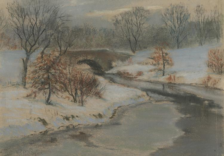 William Partridge Burpee, Winter Landscape