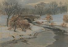 William Partridge Burpee, Winter Landscape