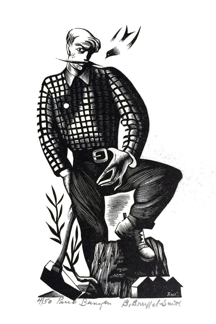 Bernard Brussel-Smith, Paul Bunyan, 1946