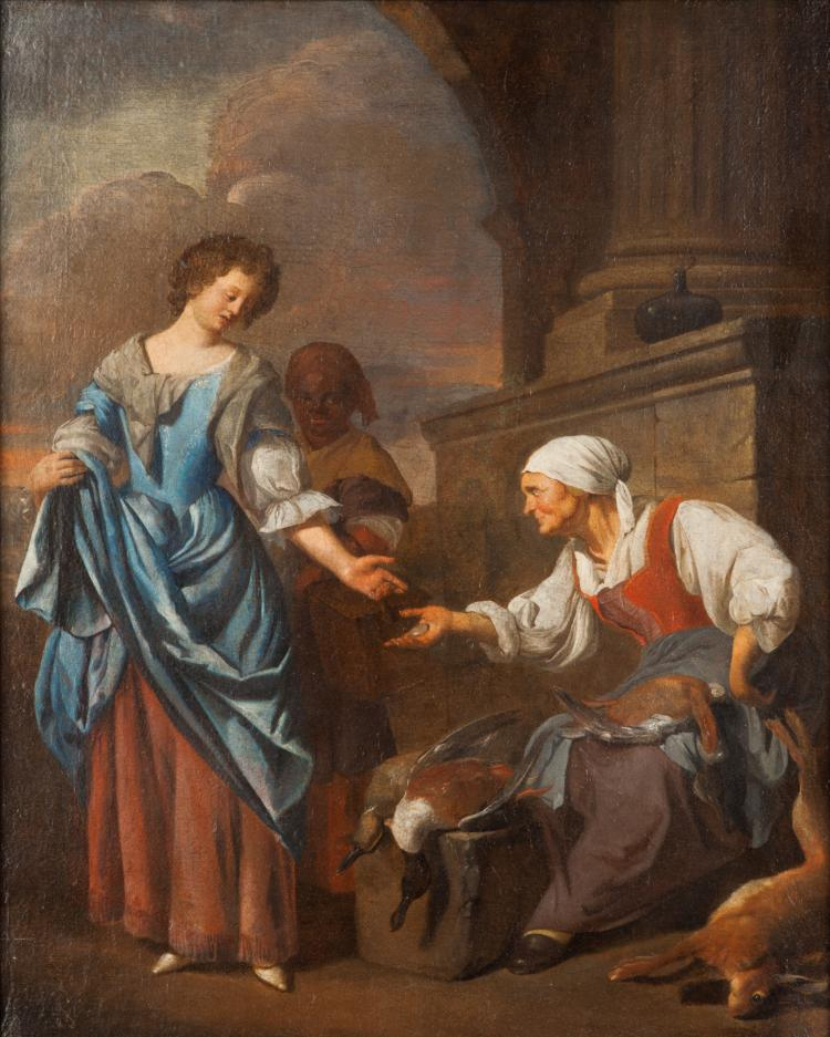 Jacob Toorenvliet, Vendor of Game, c.1690