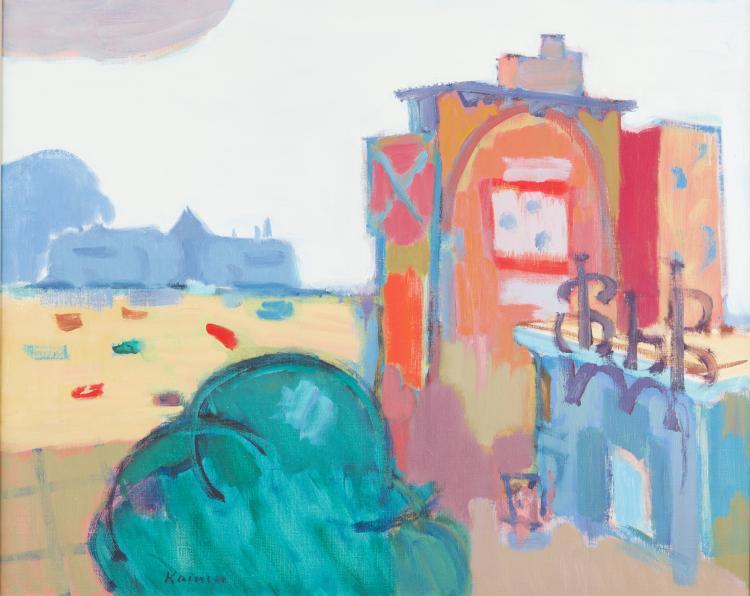 Jacob Kainen, U Street Capriccio, 1967