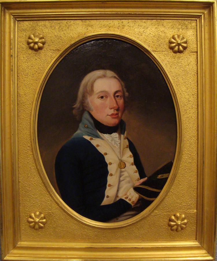 Daniel Orme, Portrait of British Naval Lieutenant, c.1805
