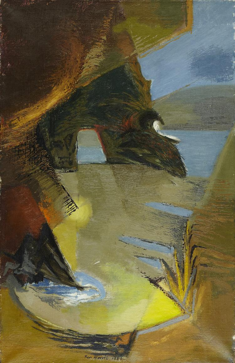 Ben Norris, Sea Cave VII, 1952