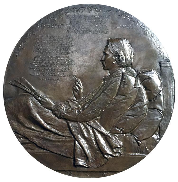 Augustus Saint-Gaudens, Robert Louis Stevenson, 1887-88