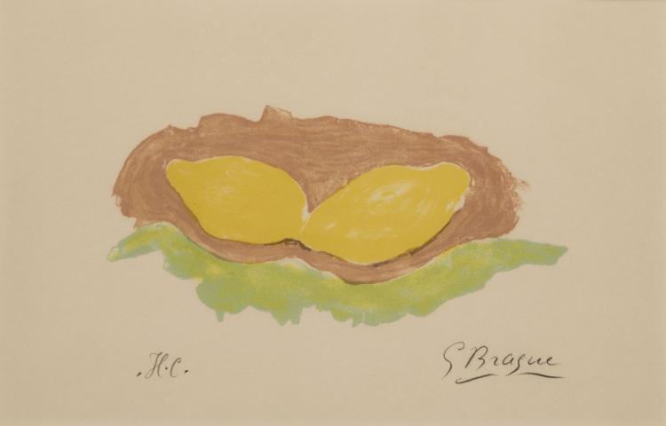 Georges Braque, Les Citrons, 1954