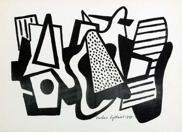 Vaclav Vytlacil, Abstract Composition, 1937
