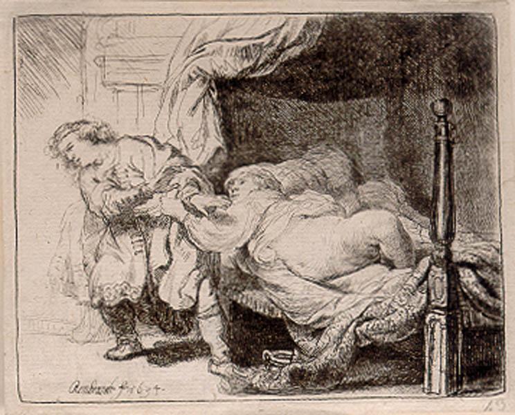 Rembrandt Harmensz van Rijn, Joseph and Potiphar's Wife, 1634