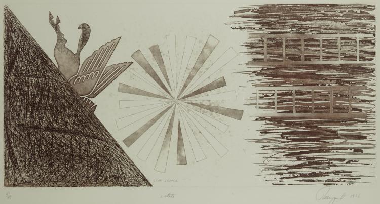 James Albert Rosenquist, Star Ladder, 1978