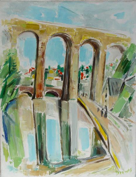 Werner Drewes, Aqueduct, 1965