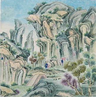 Chinese School, Climbing, c.1780