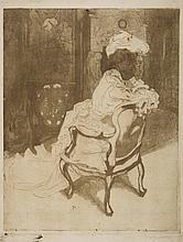 Jacques Villon, La Parisienne, Tournée a Droit, 1902