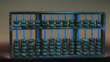 A Wood Abacus