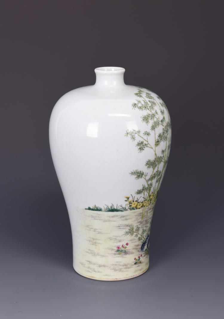 narrow mouth vases with A Famille Rose Porcelain Vase  Meiping 15147 C 21a4315892 on Metal Neck Vase besides A Famille Rose Porcelain Vase  Meiping 15147 C 21a4315892 in addition 7777816 Dale Tiffany Hand Blown Glass Vase in addition 383228249514453047 also .