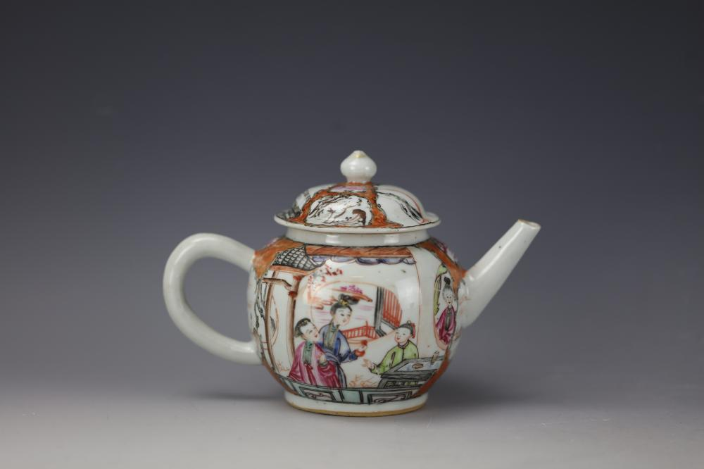A Chinese Export Famille Rose Teapot With Cover