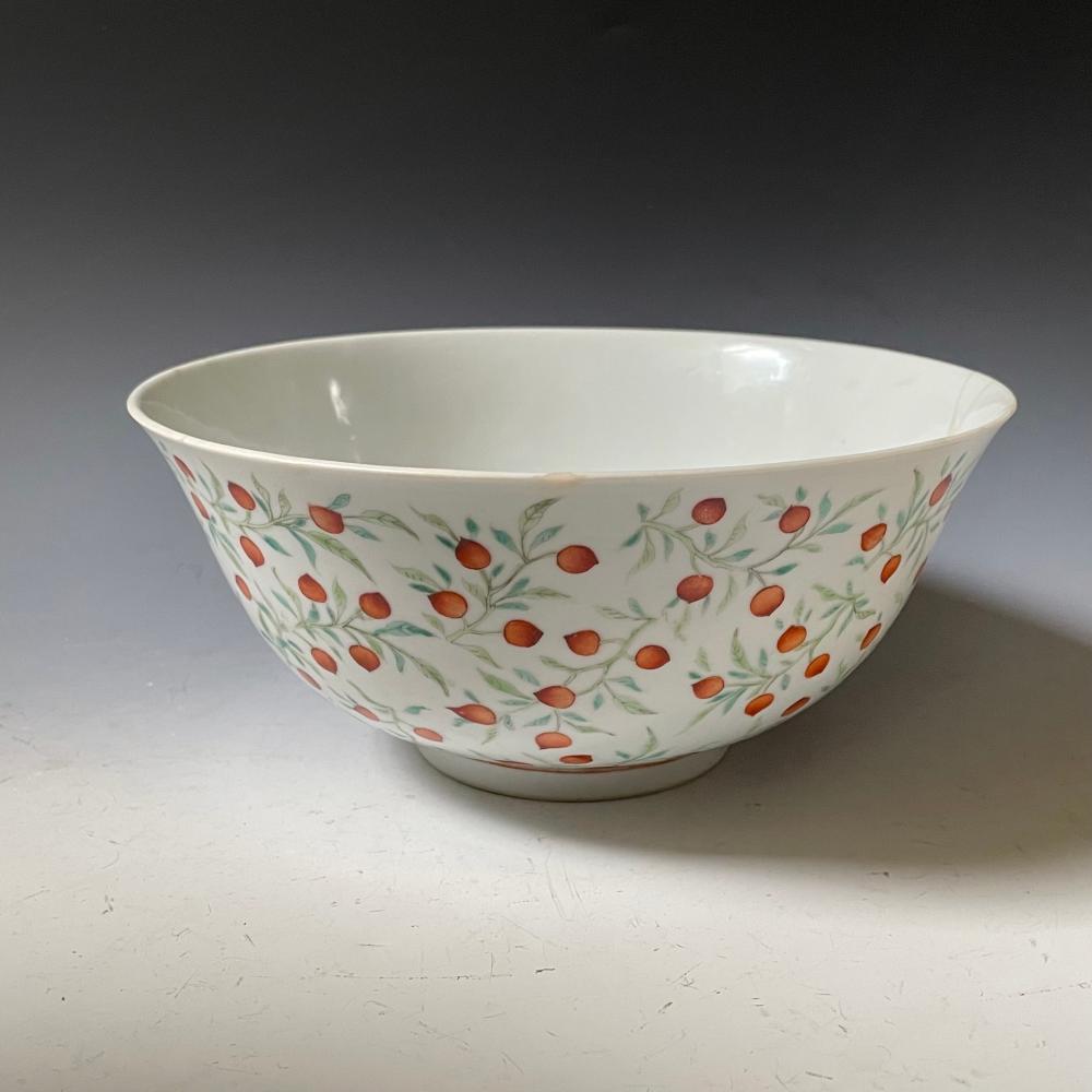 A Qing Guangxu Famille Rose Porcelain Bowl